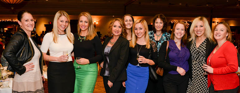 DeMaria attends A Night to Knock Your Socks Off event benefitting Henry Ford Macomb Hospitals