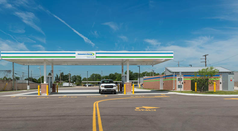 Livonia CNG Station