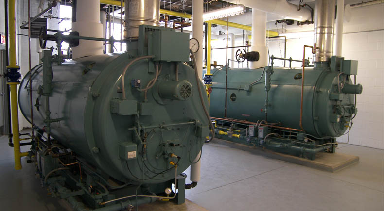 Campus Boiler Plant Implementation | DeMaria