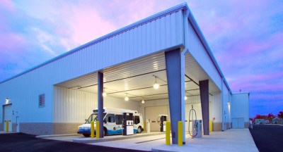 Straffon-Benedict Bus Transit Terminal and CNG Fueling Station